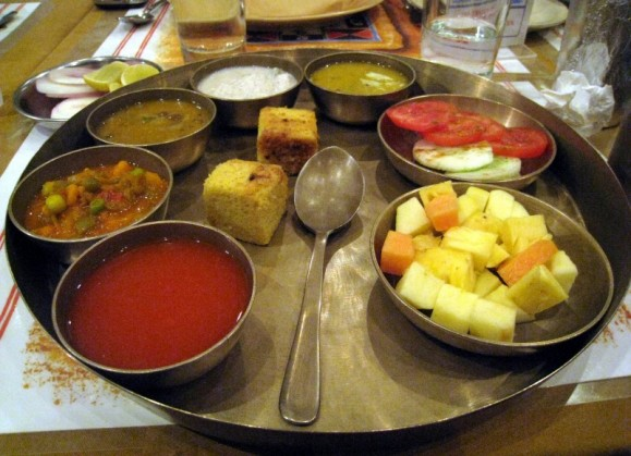 My thaali at Chetana's