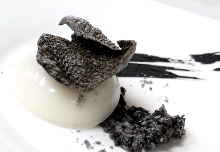 Gourmet Abu Dhabi - Chef Degeimbre's octopus eggs