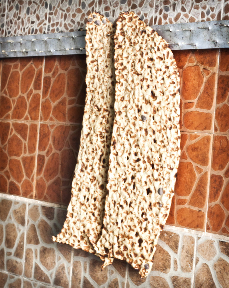 how to make sangak bread