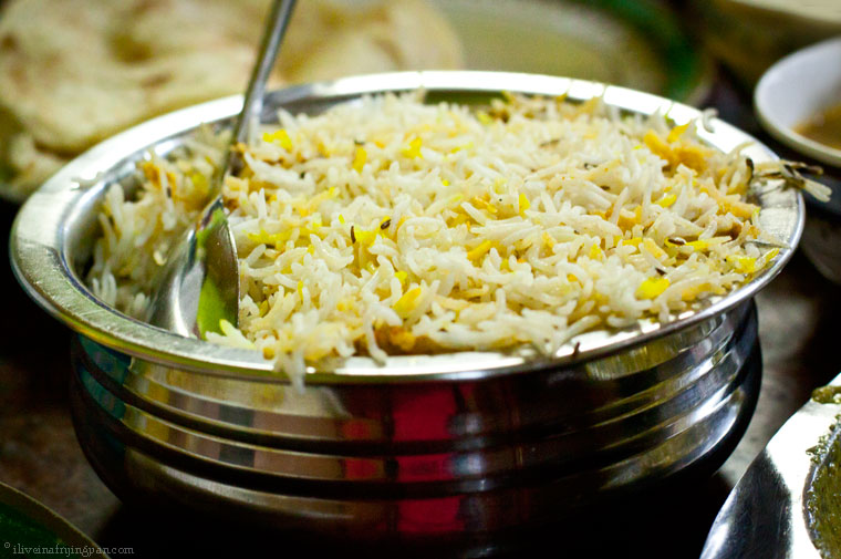 Hyderabadi Mutton Biryani - Anmol Hyderabadi Restaurant Dubai