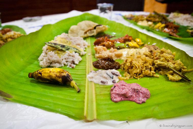 Onam Sadhya - Keralite - Avani Restaurant - Dubai