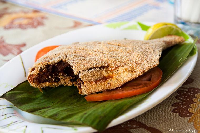 Rawa fry pomfret - Canara Restaurant Karama Dubai - Mangalorean Food