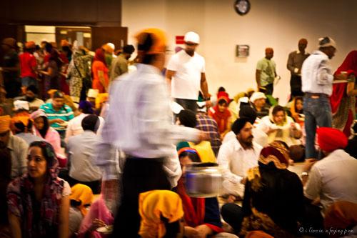 Langar - Sikh Gurdwara - Dubai