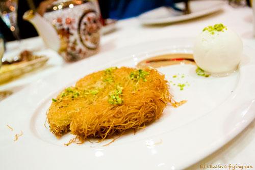 Kunafa - Yildiz Saray - Turkish Restaurant Dubai