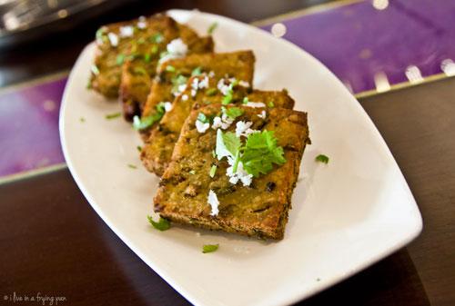 Kothimbir Wadi - Maharashtrian food - Peshwa Restaurant - Dubai