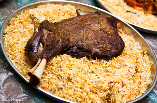 Cumin crusted yemeni haneeth in a saudi born restaurant with a lamb shoulder haneeth cabrito restaurant barsha dubai forumfinder Gallery