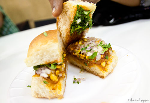 Dabeli - Mazeej Al Punjab Restaurant - Sharjah