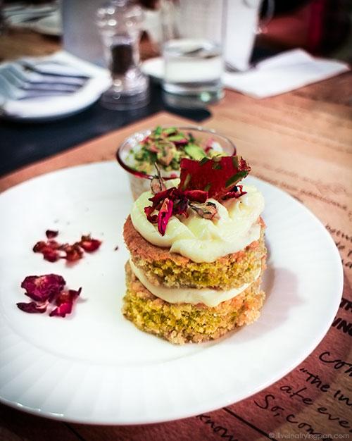 Dima Sharif Pistachio Cake Recipe