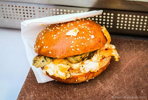 Baker & Spice - Breakfast sandwich at Farmer's Market - Dubai