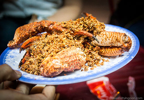Crabs - XO Foodie Tour - Ho Chi Minh City - Vietnam