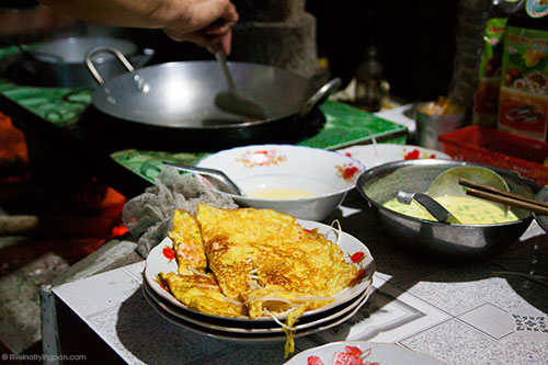 Making Banh Xeo - Homestay - Backyard Travels - Mekong Delta - Vietnam