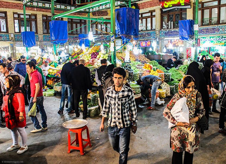 Tajrish Bazaar - Tehran Iran