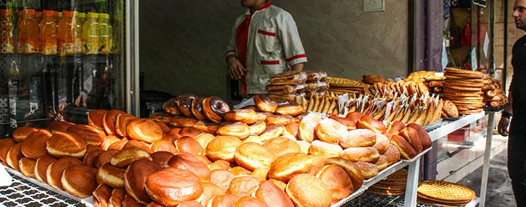Street-side bakery - Tehran Iran