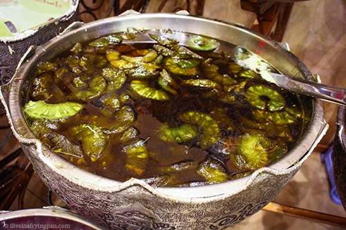 Pickled kiwis - Shiraz Iran