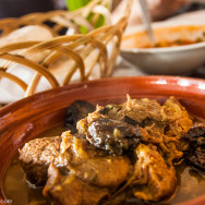 Moroccan Meat and Plum Tagine - Musaharati Restaurant - Garhoud - Dubai