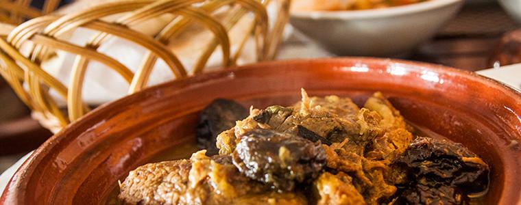 Moroccan Meat and Plum Tagine - Musaharati Restaurant - Garhoud - Dubai