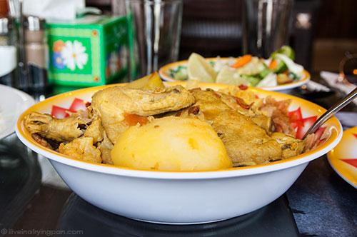 Thareed Djaj - chicken gravy with crumbled bread - Jawareh Traditional Restaurant - Emirati food - Qusais - Dubai