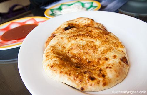 Khameer - bread - Jawareh Traditional Restaurant - Emirati food - Qusais - Dubai