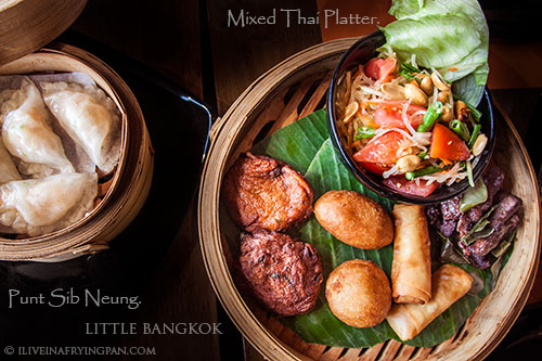Mixed Thai Platter - Little Bangkok - Thai Restaurant - Oud Metha Dubai