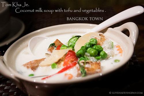 Thai Coconut soup -  - Bangkok Town - Thai Restaurant - Abu Hail Dubai