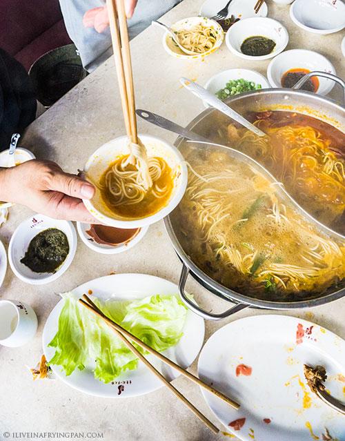 Chinese Hotpot - Chongqing Liuyishou Restaurant - Nasr Square Deira Dubai