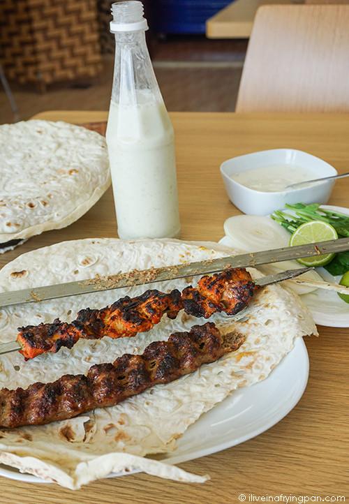 Iranian Kababs at Control Restaurant  - Jumeirah Dubai