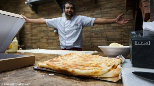 Egyptian Feteer - Soarikh Restaurant - Dubai